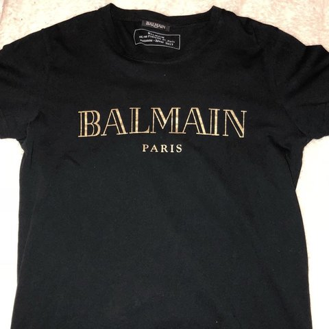 640e7e14 @ams_x. 8 months ago. London, United Kingdom. Men's authentic balmain t-shirt  size small perfect condition