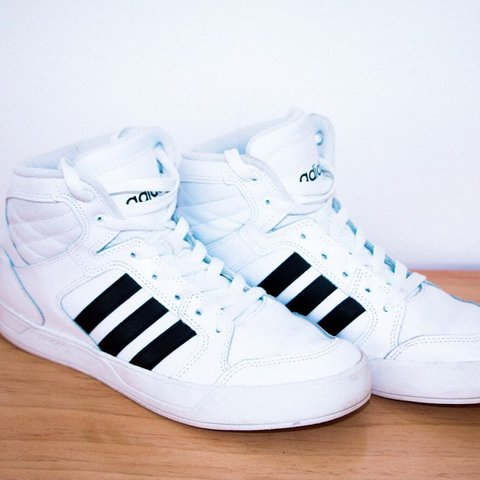new style 968c0 ebe57  micaelapaige. 10 months ago. Clinton Township, United States. Adidas Neo  high tops.