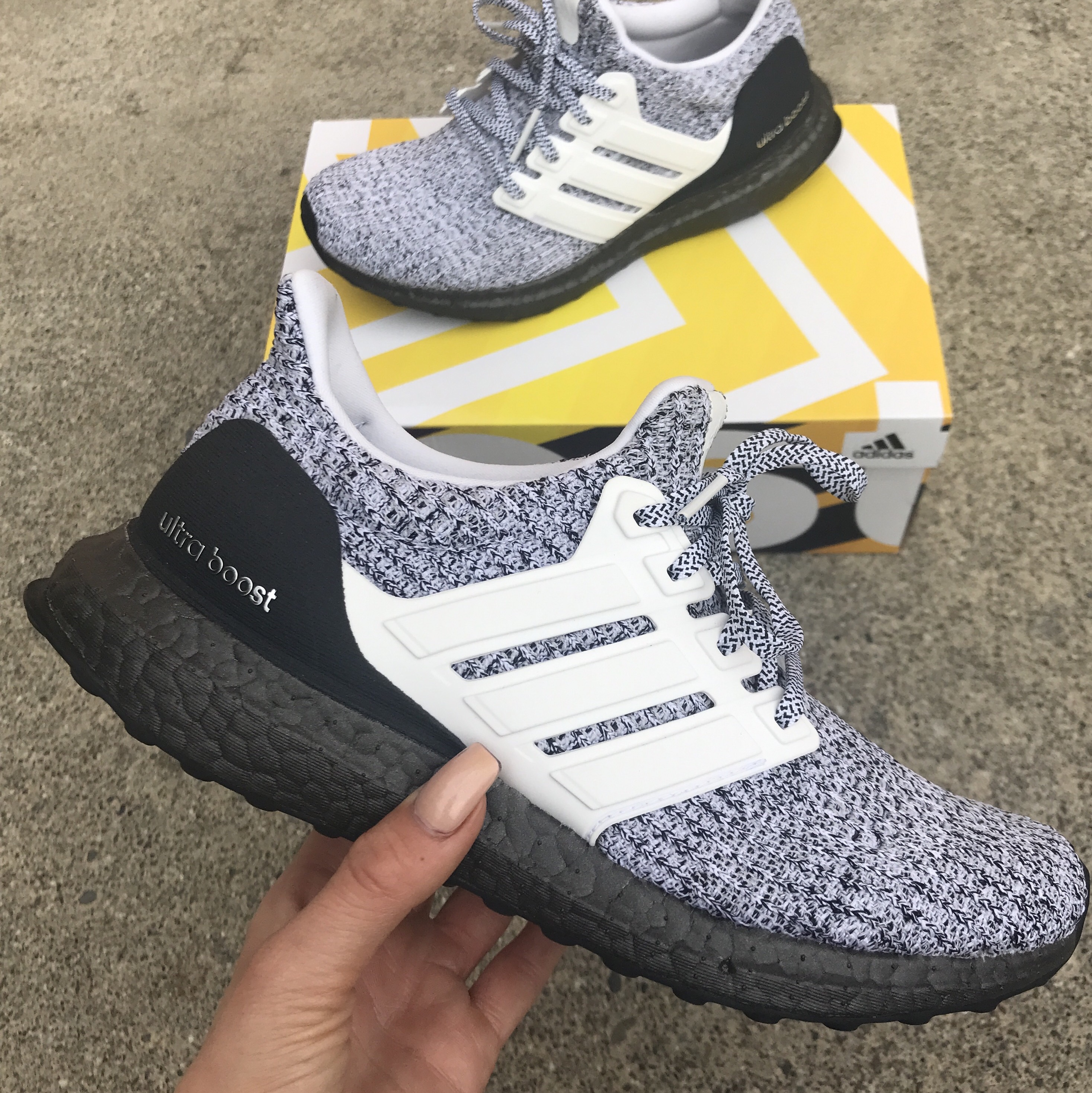 timeless design 72fcc c8170 Adidas Ultra Boost 4.0 Oreo Worn about 10 times... - Depop