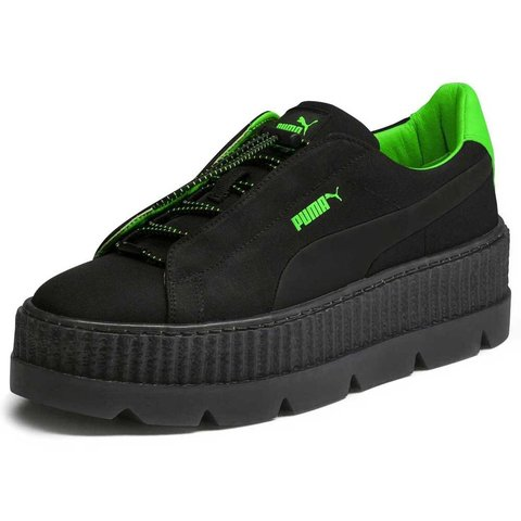 d8ffcb50e3d FENTY PUMA SURF CLEATED CREEPER    Green   Black Women s a - Depop