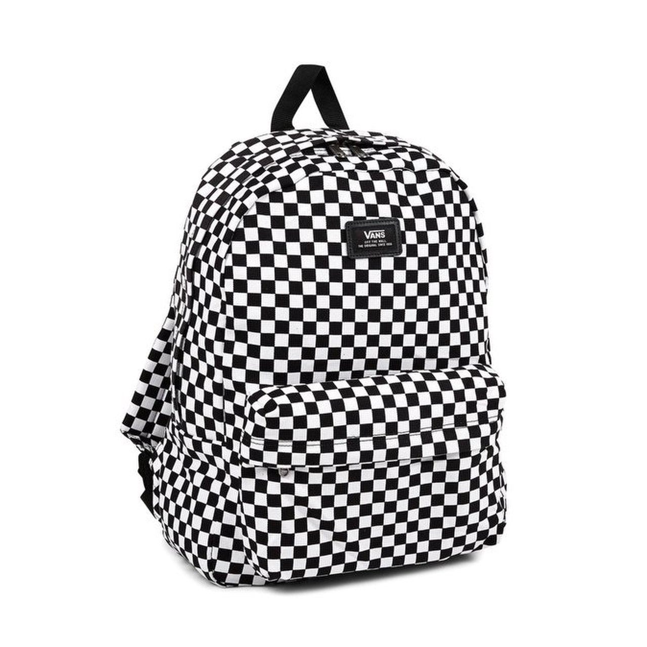 e3ec035bdfd Black And White Checkered Vans Backpack | Building Materials Bargain ...