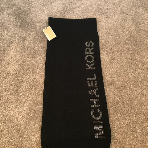 4cc82f135bd44 Michael kors scarf gorgeous detailing. Brand new with tags - Depop