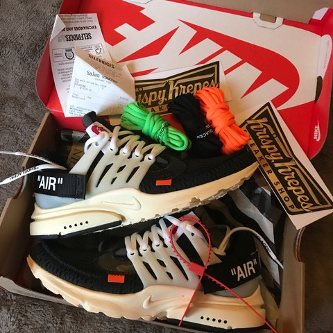 36f854e46fa04a Nike off white presto Size 6 UK Rare