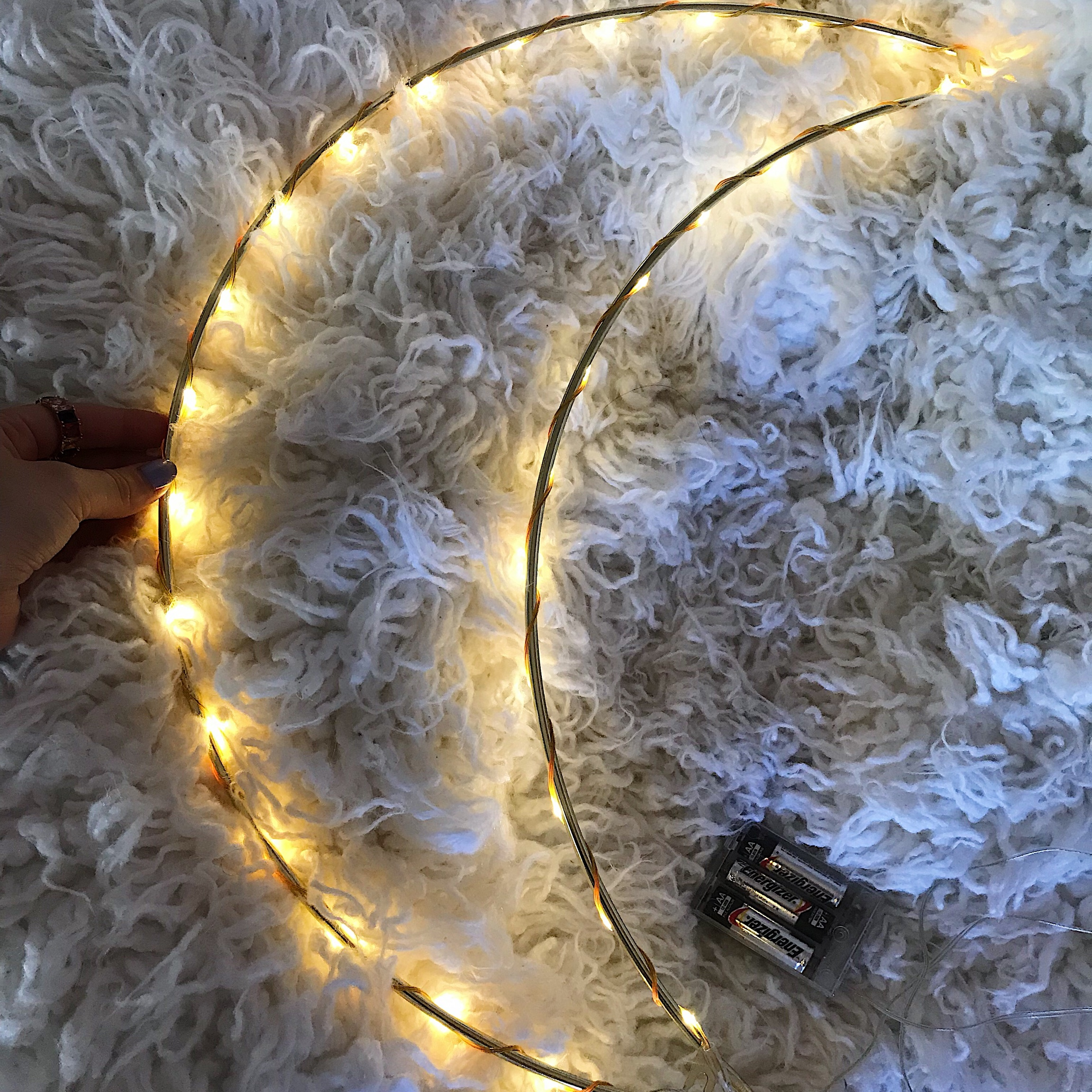 Light up moon sign form urban outfitters love it    - Depop