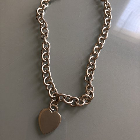 d46d73bea @djqueene. last year. London, United Kingdom. Tiffany necklace - Used but still  good condition ...