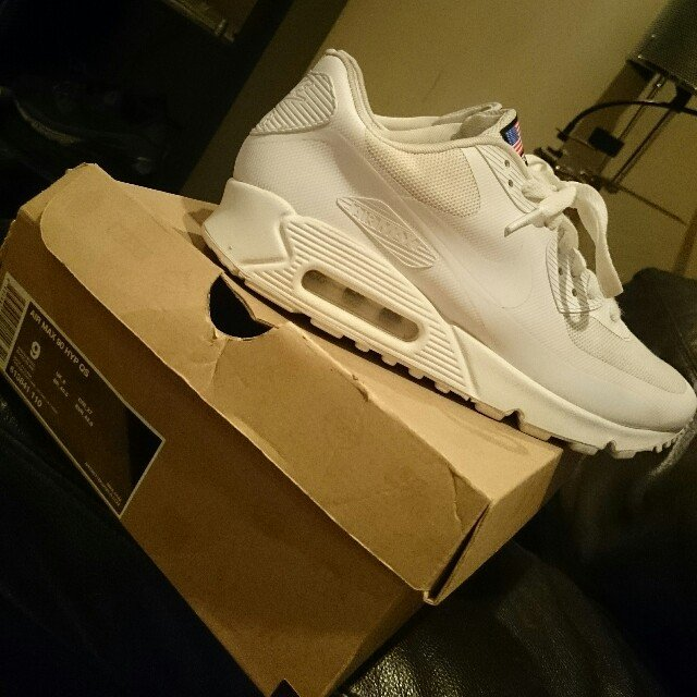 cd4bbaef868ee ... new style nike air.max 90 independence day.white uk 8 9 10 og