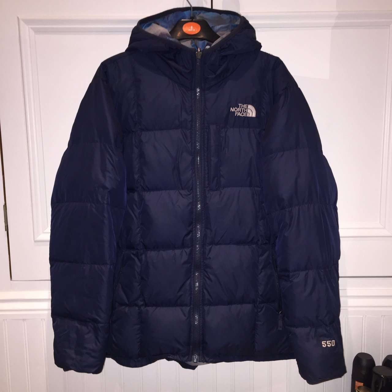 Navy blue north face 550 down puffer jacket    puffa coat. a - Depop 4d14c6a548f6