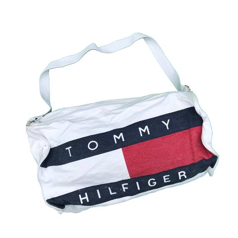 Only one on depop! Vintage 90s Tommy Hilfiger spell out   - Depop 2ae49868fb7a9