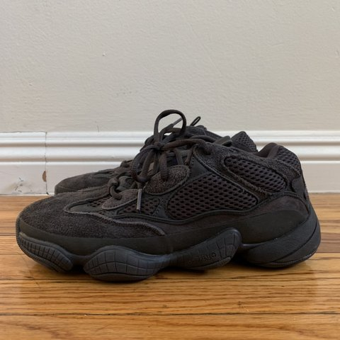 Yeezy 500 Adidas Black Perfect condition I can show Depop