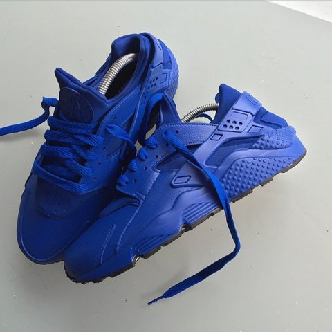 detailed look 0b580 ab653 ... coupon code for custom nike huaraches crips vs bloods blue and red each  pair bought brand