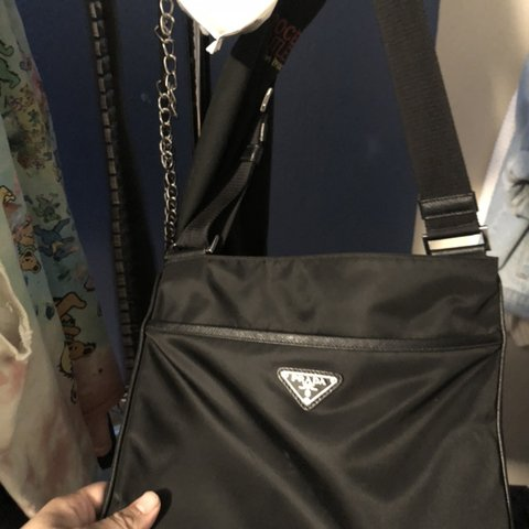 7557c6e159796d PRADA CROSS BODY BAG. 100% AUTHENTIC. BOUGHT FROM FARFETCH. - Depop