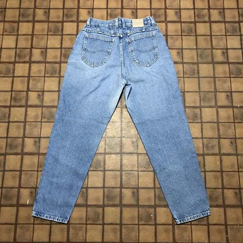 bcf96839 @annaphilly. last year. Standish, United States. Vintage 90s Light wash Lee  high waisted mom jeans.