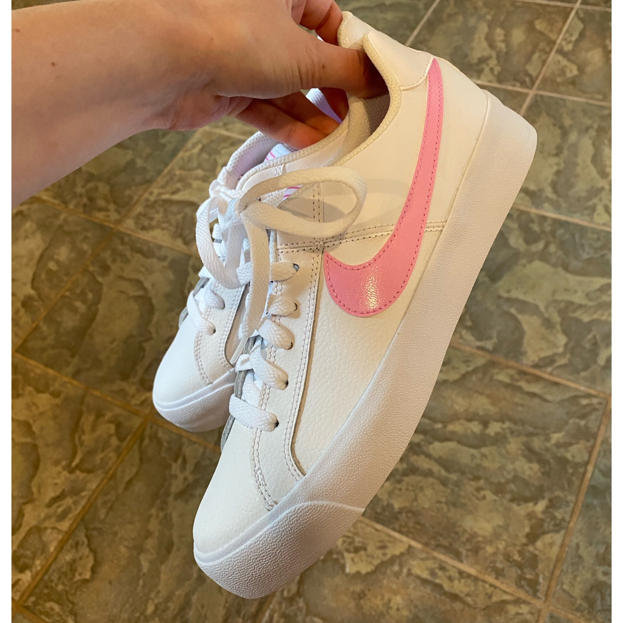 Nike Court Royale Pink and White