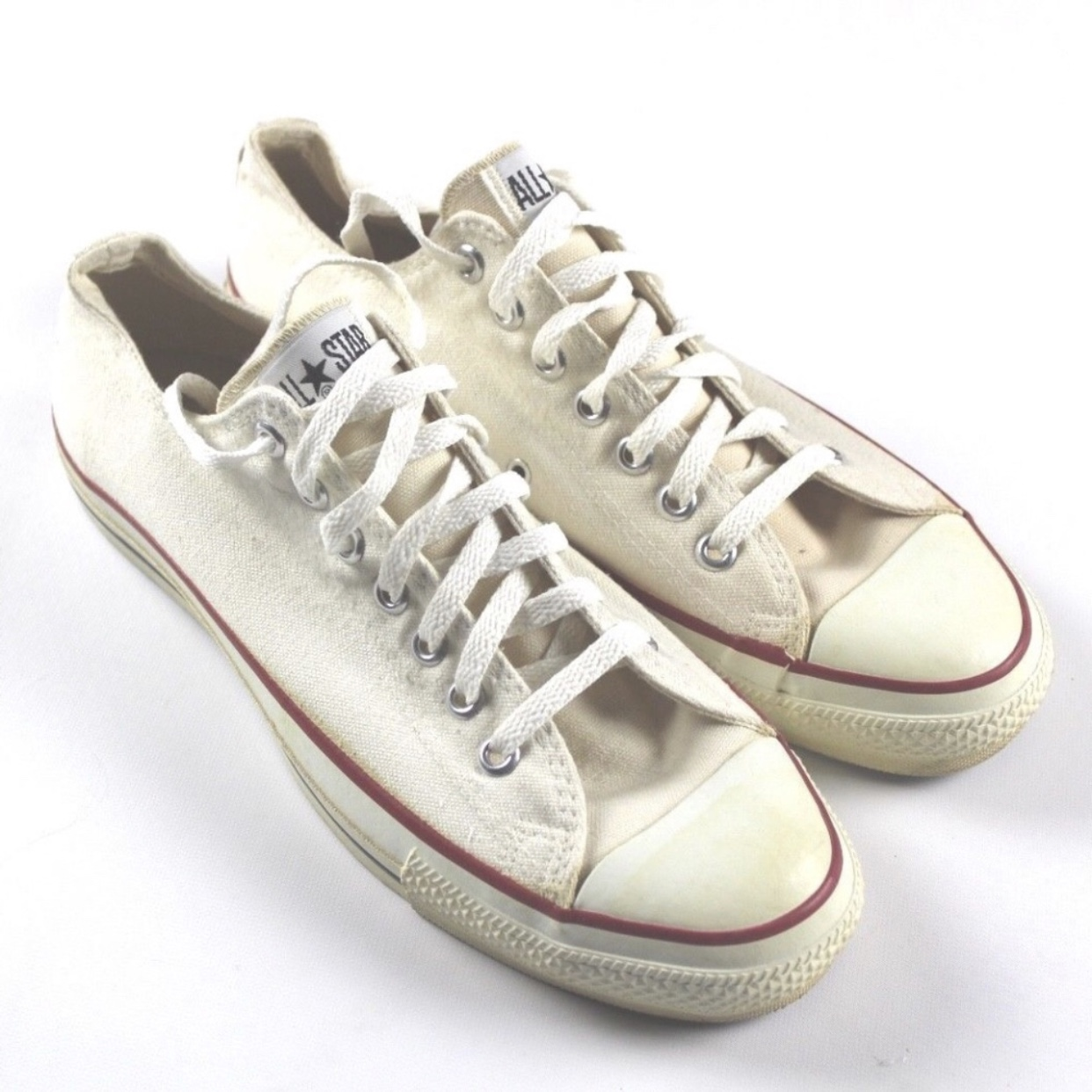 Vintage Converse Made In USA All Star Low Top Depop