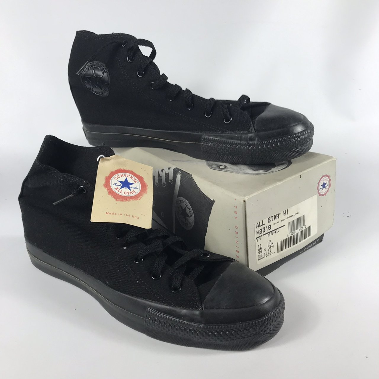 2c55f106f31e Vintage 90s Converse Made in USA Chuck Taylor All Star Hi - Depop