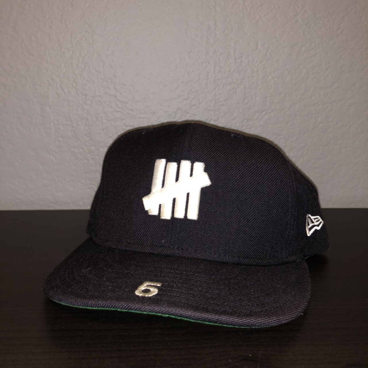 Undefeated new era fitted cap 71 4 good condition.  newera - Depop 332b90b0c05