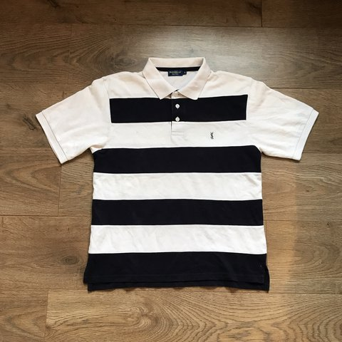 5747adba @cammy997. 5 months ago. Barnsley, United Kingdom. Yves Saint Laurent YSL  polo shirt. Women's size 8. Good condition some wear
