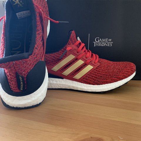 daa0fba4e1e90 Adidas x Game of Thrones - House Lannister men s UK 8.5 Only - Depop