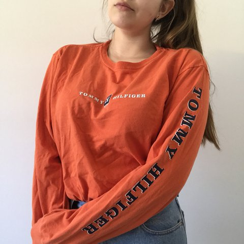 4251df661 @laurenbby. last year. Gainesville, United States. spell out tommy hilfiger  long sleeve ...