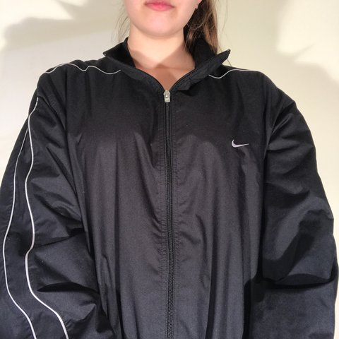 7e7e77703 @laurenbby. last year. Gainesville, United States. basic black and white  striped nike windbreaker. ...