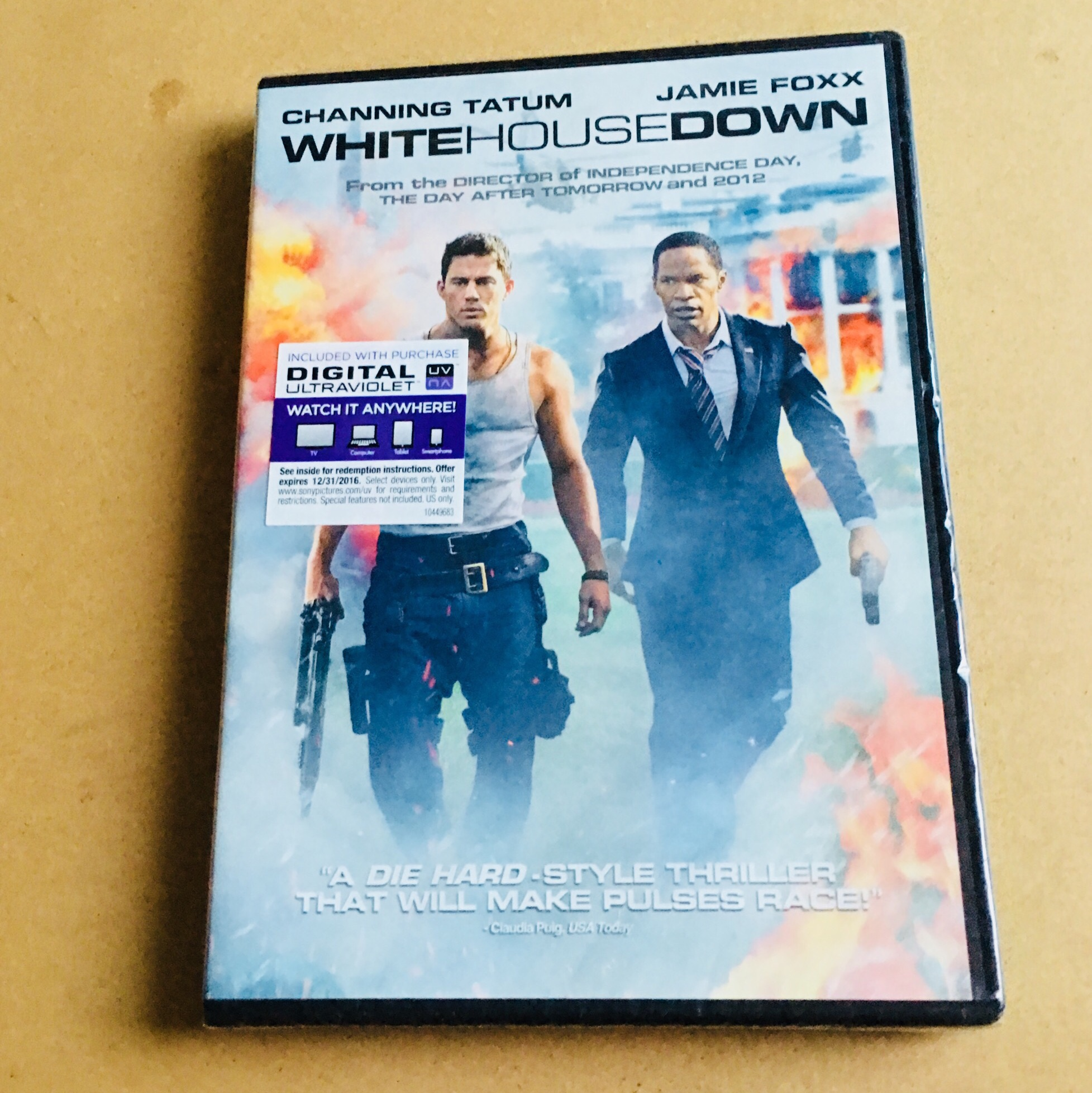 d4c013a2 FREE shipping‼️ White House down dvd - never been... - Depop