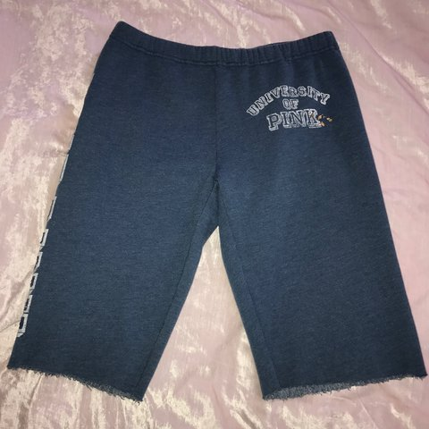 86fb6dda01 Size XS Navy Victoria Secret Pink Shorts Navy blue Good and - Depop