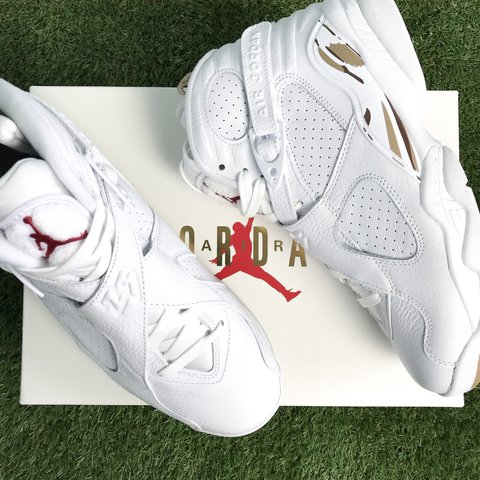 6975453aa06cb4 Air Jordan 8 retro OVO🔥 Perfect condition • Brand new • OVO - Depop