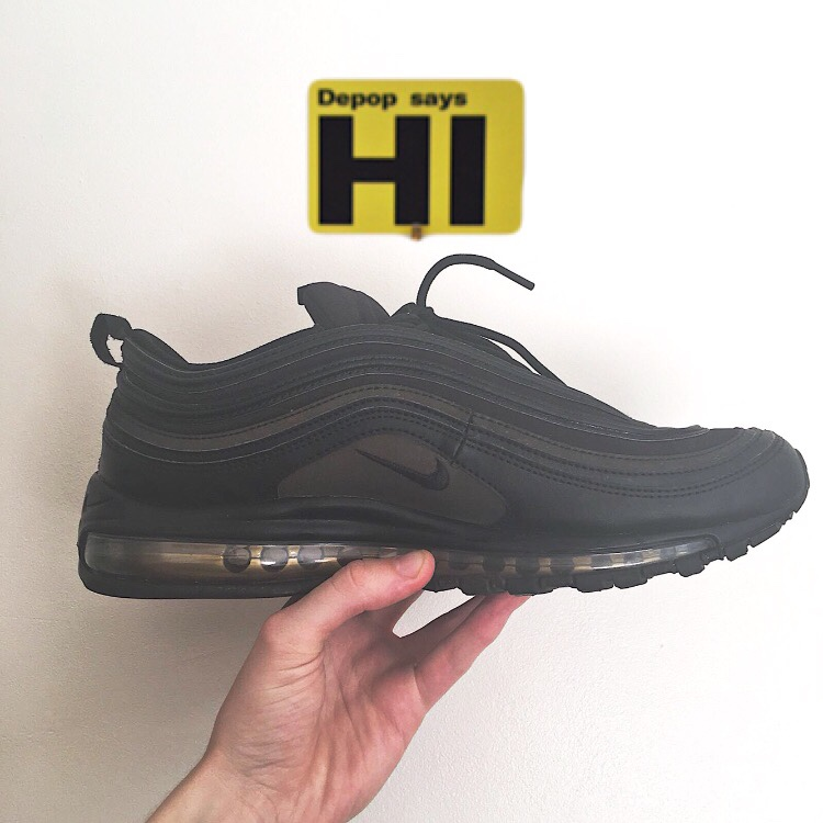 another chance 0fb34 289cc Nike Air Max 97 Black Friday Limited Edition ... - Depop