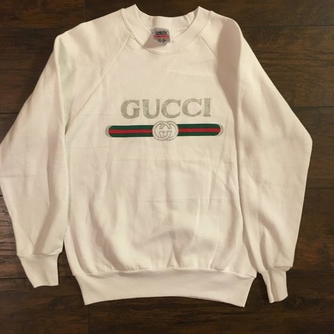 f5880594437 Vintage Gucci boot Crewneck Sweater. Size tags M
