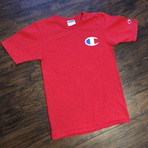 e9874076 @spacecityvintage. 10 months ago. Pearland, United States. Vintage  Champions big logo T-shirt