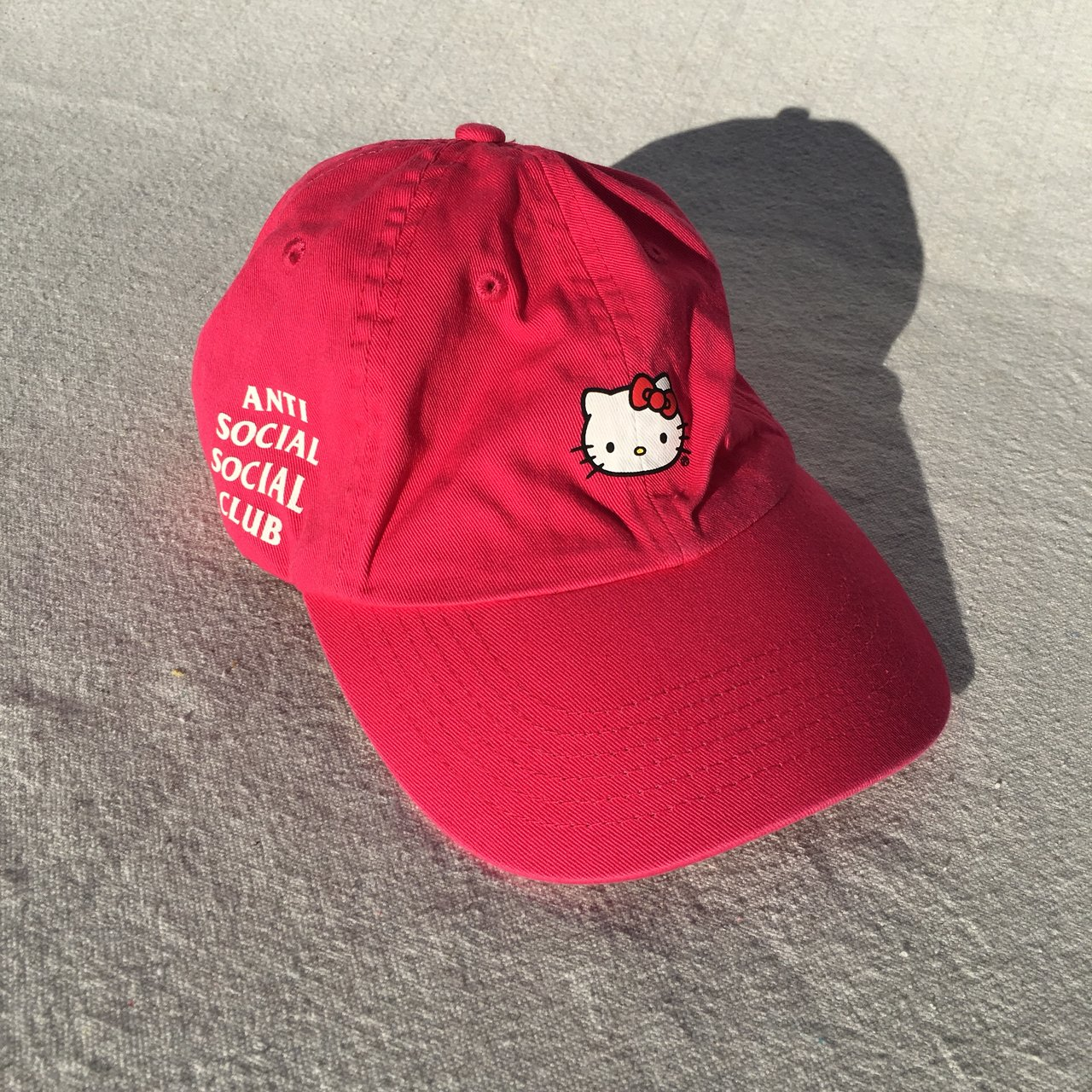 ASSC. Blocked Black Dad Cap 06f2f9332ed9