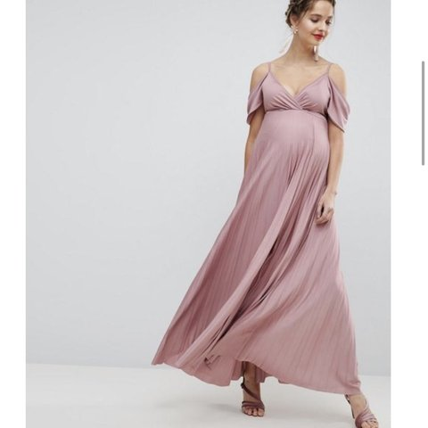7c375a0be7eef @xeliseyb123x. 3 months ago. Andover, United Kingdom. ASOS rose pink  maternity dress size 12. Originally bought ...