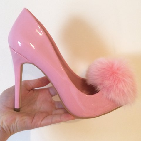 db9b56ca2d43 🌸Privileged PLAYBOY pumps 🌸 in baby pink. Made out of with - Depop