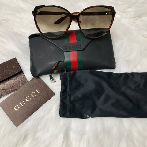 855f6a78fe Authentic Gucci Oversized sunglasses 😎 Gucci glasses in - Depop