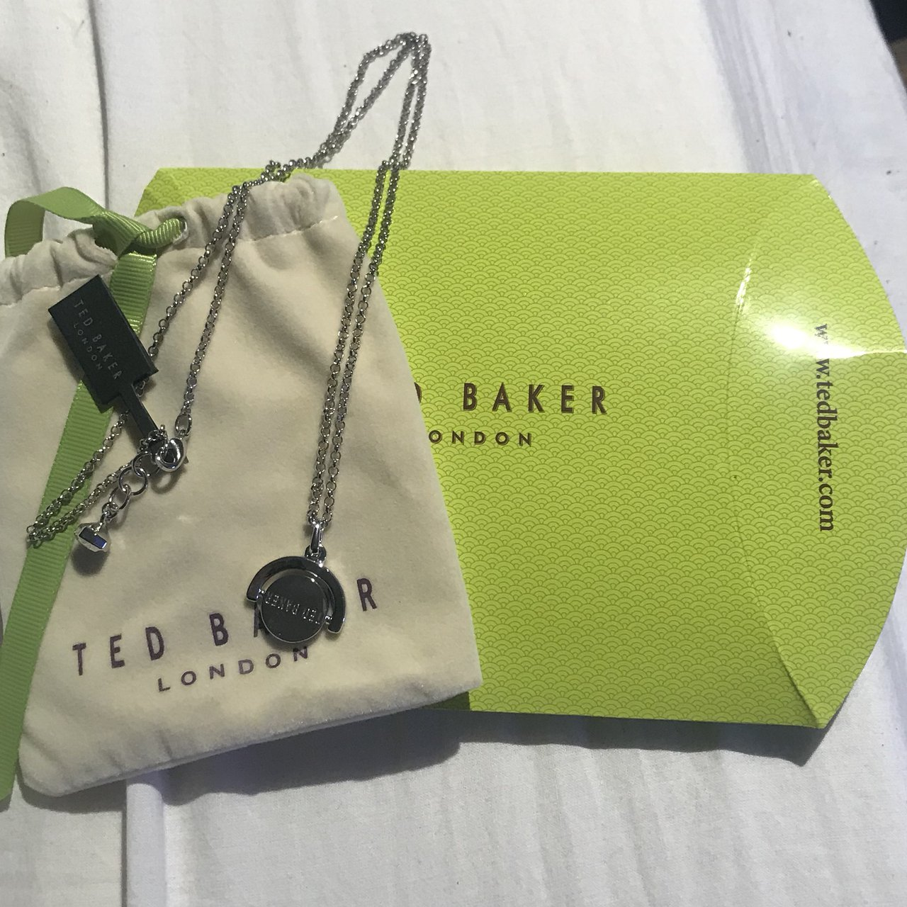 a61f6da9aa REDUCED! Ted Baker Necklace, never worn and new with tags, - Depop