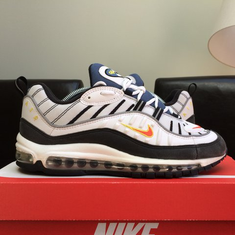 417f126e3a @bagombar. last year. London, United Kingdom. Air Max 98 Team Orange - UK8  ✅ Free shipping ✅ Double boxed. Very good condition