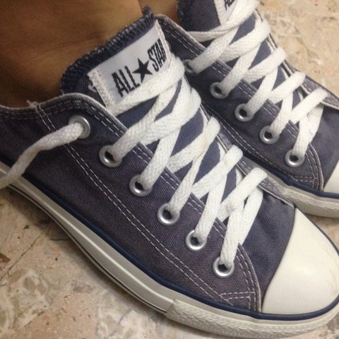 d703bff69b97 Ecco le mie all star blu indossate