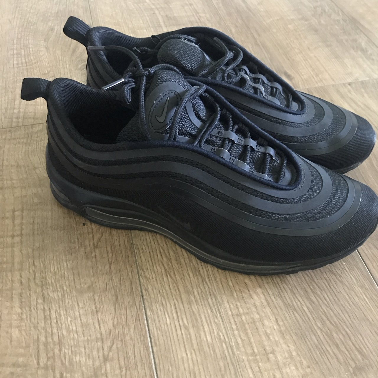 1e935128e16a23 All black Air Max 97s Purchased from ASOS just 5 months  jd - Depop