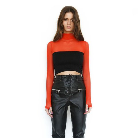 ab9cbeda9d0 IAMGIA SOLD OUT LANA TOP - ORANGE XS. perfect condition
