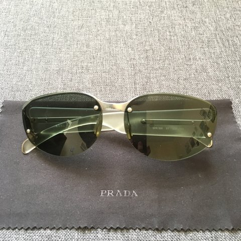 f4eff3e793ab @rimbelle. 2 months ago. Torquay, United Kingdom. Vintage authentic prada  sunglasses. Serial number which proves authenticity can ...