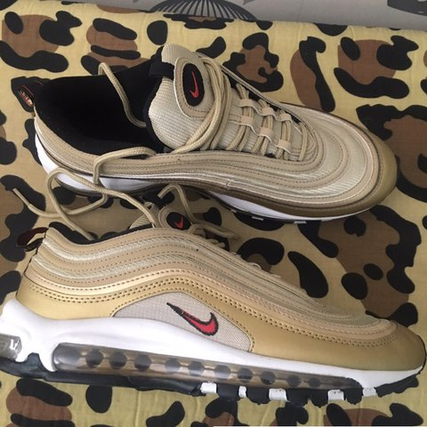 da6d48601c ... where to buy og retro nike air max 97 metallic gold not those ugly 8  depop