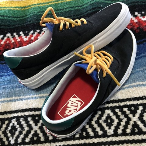 e173477dd66 Vans Authentic color block sneaker 💣 Size 6.5 Men s    8   - Depop