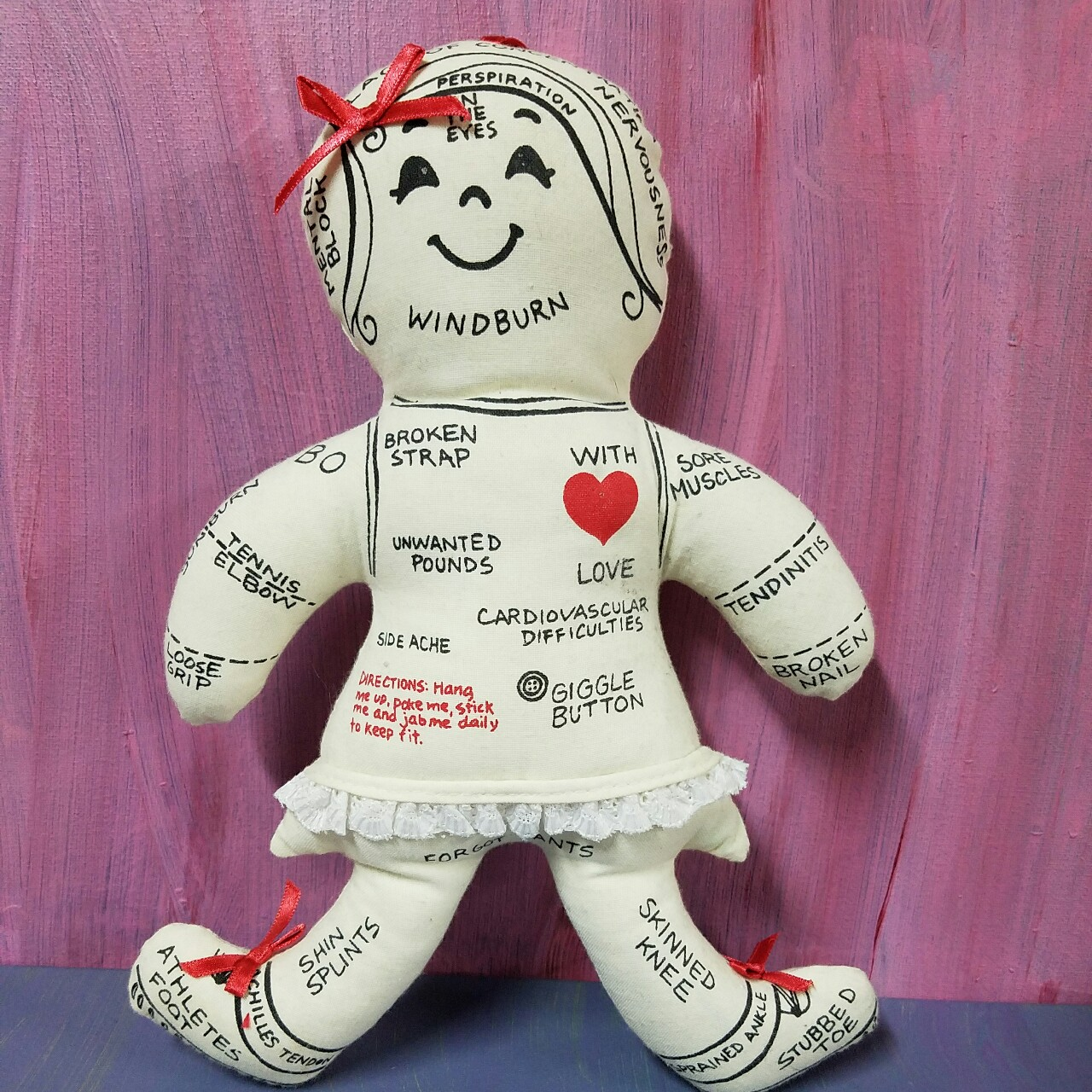 New Orleans health Voodoo Doll  Barely used and    - Depop