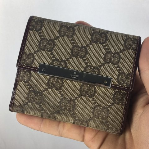 884f104a4b19 @godspeed16. 4 months ago. El Cajon, United States. Gucci Monogram Wallet  ONE SIZE FREE DOMESTIC SHIPPING ON ALL ...