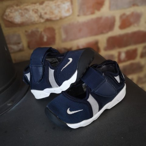 buy popular 2f2ad b83f6 Navy Nike Rifts Trainers Infant- 0