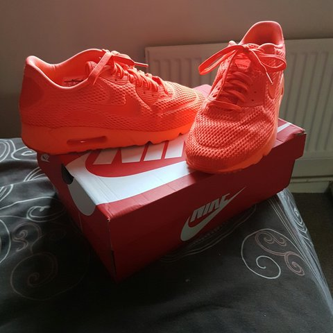 Nike air max 90 ultra breath all red special edition Depop