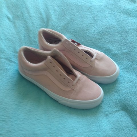 24742f48b8b3 Pink suede old skool vans. UK size 4. Brand new