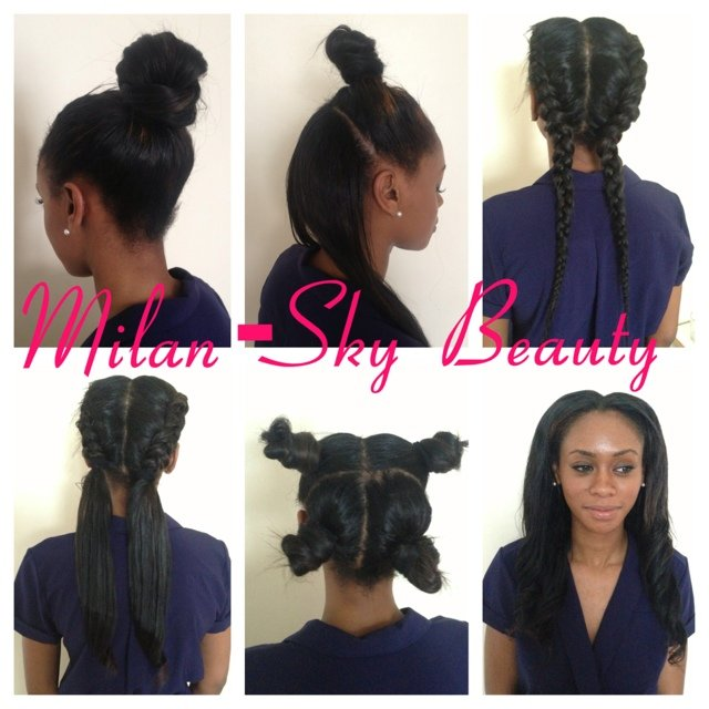 Beautiful Ladies It Is Time To Book Your Four Part Weave No Depop