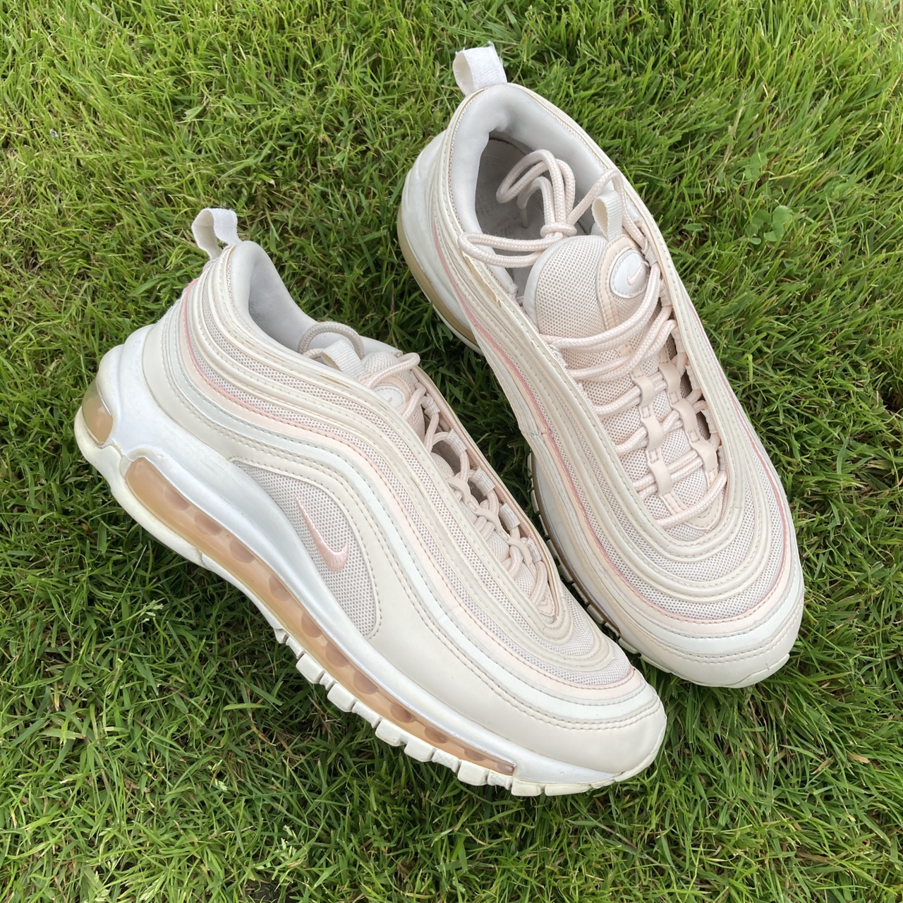 Guava Ice Light Pink Nike Air Max 97 With Peach Depop