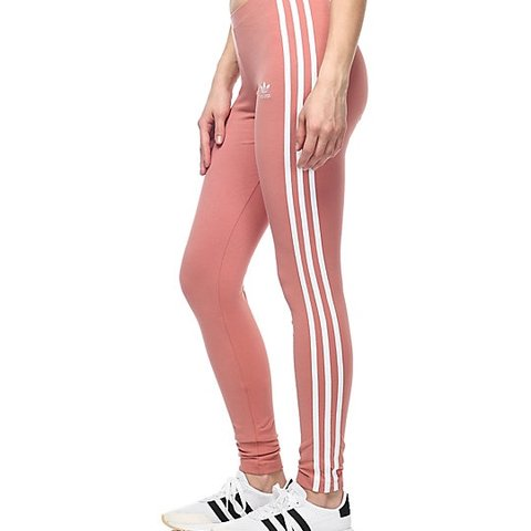 af848a089f515 Adidas leggings in nude/peach colour, new condition. Bought - Depop